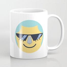 Franky Emoji Design Coffee Mug