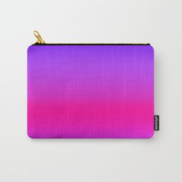 Neon Pink Purple Blue Carry-All Pouch