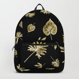 Thanksgiving Gold Leaves Backpack