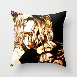 """Milk & Honey"" Throw Pillow"