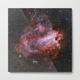 Star Forming Region Messier 17 Metal Print