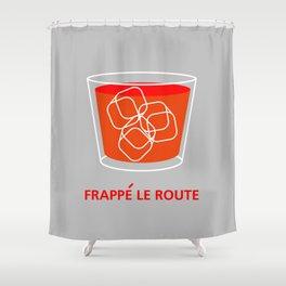 DgM FLR Shower Curtain