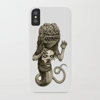 demon iPhone & iPod Cases featuring Demon by Tim Maclean