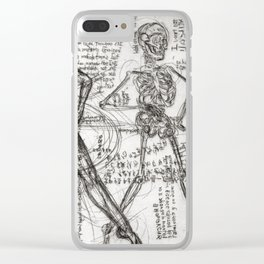 Clone Death - Intaglio / Printmaking Clear iPhone Case