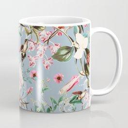 Hummingbird in vintage bloom Coffee Mug