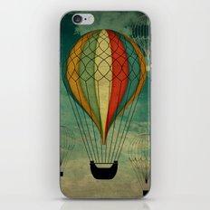 1er vuelo Aerostático en España iPhone & iPod Skin
