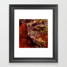Dehiscence 15 Framed Art Print