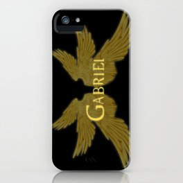 Archangel Gabriel Wings iPhone Case