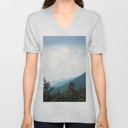 Atop Mt Mitchell Unisex V-Neck
