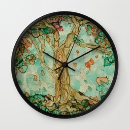 Autumn tranquility Wall Clock