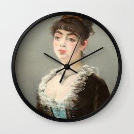 "Édouard Manet ""Madame Michel-Lévy"" Wall Clock"