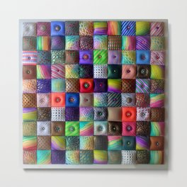 Patchwork of Joy Metal Print