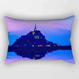 Mont Saint-Michel Rectangular Pillow