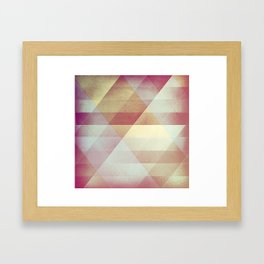 SH∆PES Framed Art Print