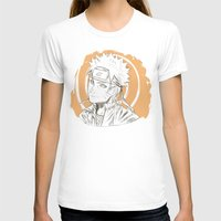 naruto T-shirts featuring Naruto by ilaBarattolo
