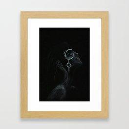 Eye of the Moon Framed Art Print