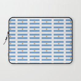 Flag of argentina 2 -Argentine,Argentinian,Argentino,Buenos Aires,cordoba,Tago, Borges. Laptop Sleeve