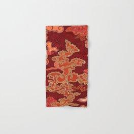Crimson Clouds Hand & Bath Towel