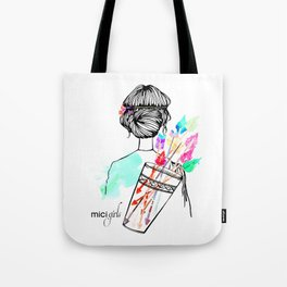 MICI Girls March issue 2016 Tote Bag