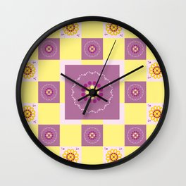 Сhildren's Geometry Wall Clock