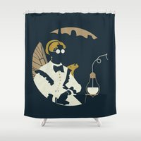 fullmetal alchemist Shower Curtains featuring Junction Fae — Alchemist by The Provincial Trading Co.