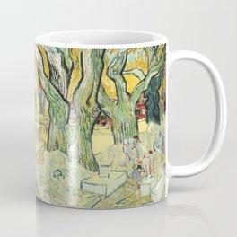 The Road Menders by Vincent van Gogh Coffee Mug