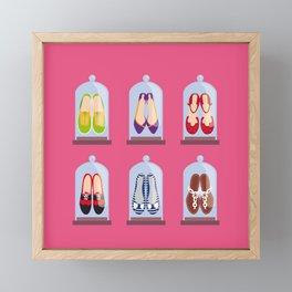 Shoes Framed Mini Art Print