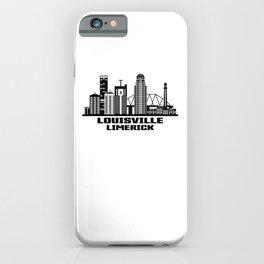 Louisville Limerick Kentucky Skyline iPhone Case