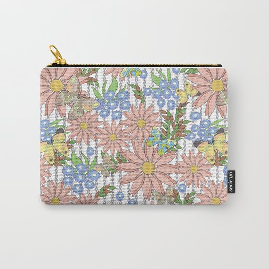 cute floral pattern Carry-All Pouch