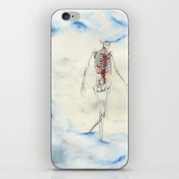 titan iPhone & iPod Skins featuring Titan by Sandra Grippi