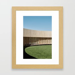 Around Framed Art Print