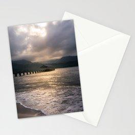 Hanalei Pier Bay Kauai Hawaii Printable Wall Art | Tropical Island Landscape Travel Photography Print Stationery Cards