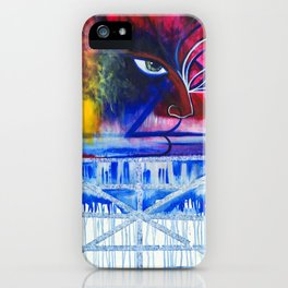 Anger Over Grief iPhone Case