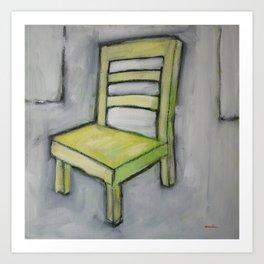 The Short Chair Art Print