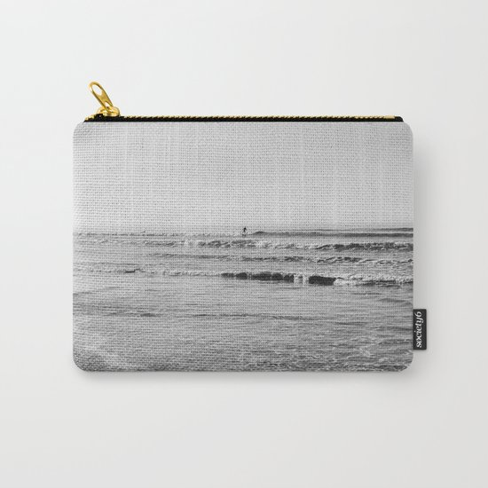 Surfing Monochrome Carry-All Pouch