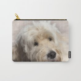 Dog Goldendoodle Golden Doodle Carry-All Pouch