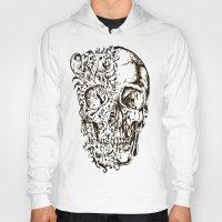 skeleton Hoodies featuring Skeleton by ViviRajski