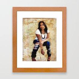 Like Butta Baby! Framed Art Print