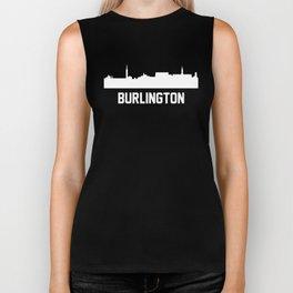 Burlington Vermont Skyline Cityscape Biker Tank