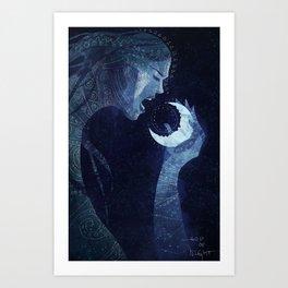 Goddess of Night Art Print