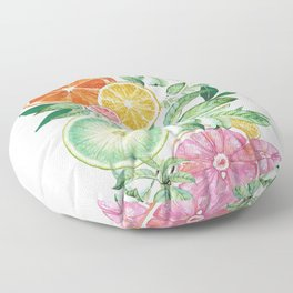 Citrus Fruit Floor Pillow