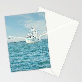 Shrimp boat 3 Stationery Cards