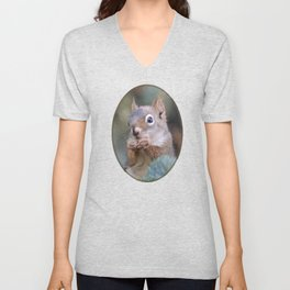 Mr. Squirrel ~ I Unisex V-Neck