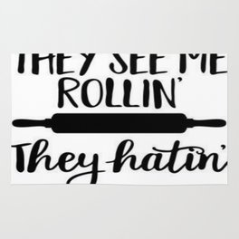 They See Me Rollin' Rug