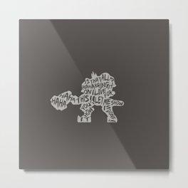 Reinhardt Type illust Metal Print