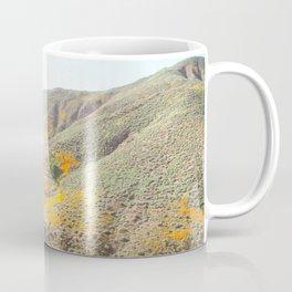 Poppy Super Bloom Vintage Fade Coffee Mug