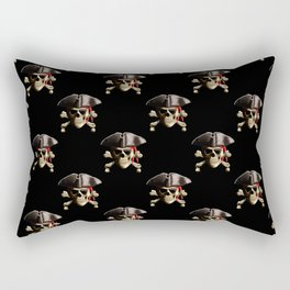 Jolly Roger And Hat Rectangular Pillow