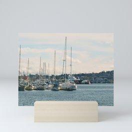 Smooth Sailin' Mini Art Print