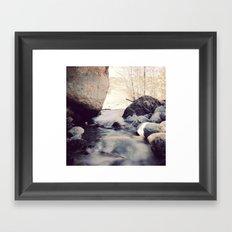 Peace Creek Framed Art Print