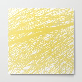 Yellows Metal Print